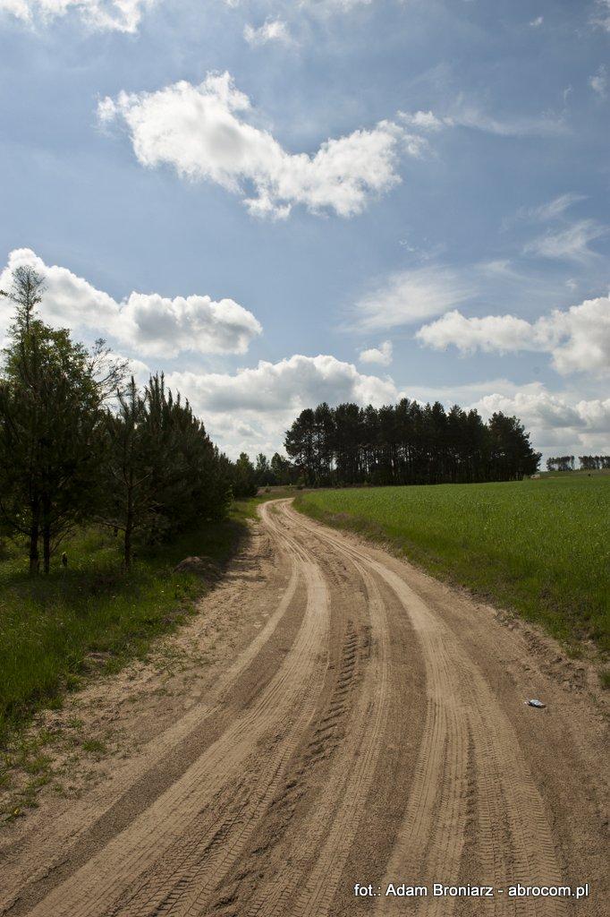 Droga polna w Luboczy